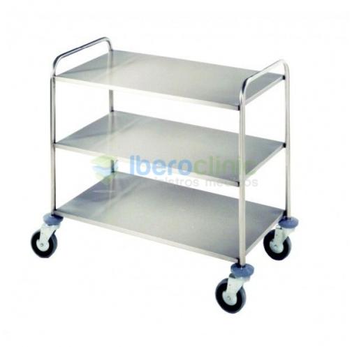 Carro de distribución 3 estantes