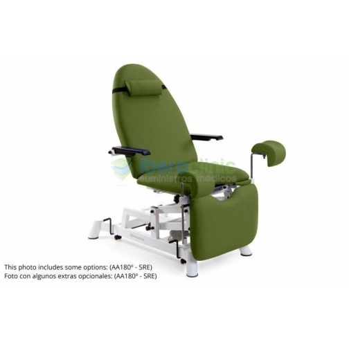 Cadeira para exame ginecológico com 2 motores