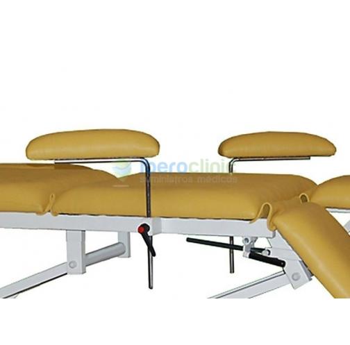 Descansos para braços ajustáveis em altura e abertura
