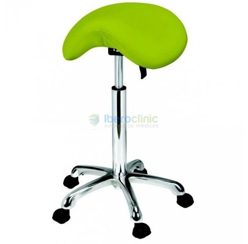 Taburete tipo silla de montar ORGANIC