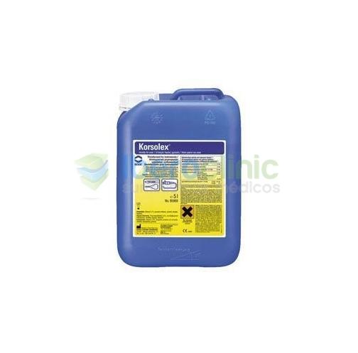 ENVASE: Garrafa 5 Lts.<br>USO: Desinfectante con aldehídos para instrumental y endoscopios<br>COMPONENTE ACTIVO: Glutaraldehído