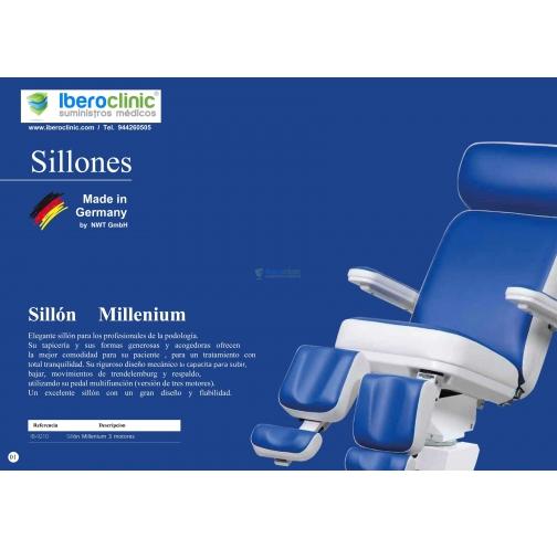 Catálogo cadeira Millenium
