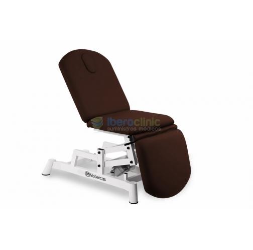 Camilla tipo sillón de 3 secciones