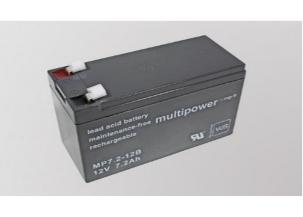 Bateria Völker 12 V - 7,2 AH.