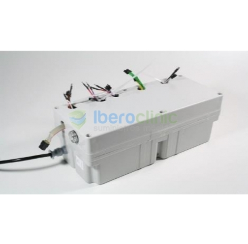Caixa única do transformador de baterias