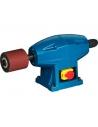 Tambor de caucho de Ø 80 x 80 mm.<br>Porta accesorios con cierre automático. <br>Tensión: 220 V.<br>Potencia: 600 W.<br>Velocida