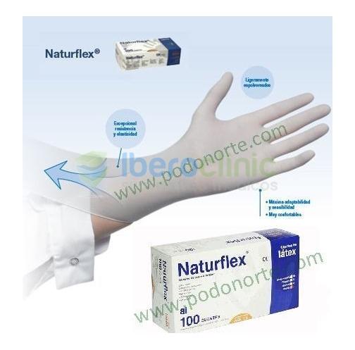 Luvas em latex com pó Naturflex®
