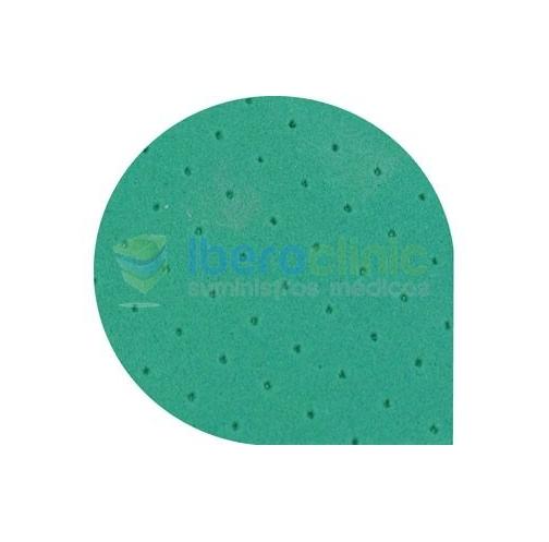 Dureza Shore A: 30<br>Espesor: 1,5 mm negro y beige ; 1mm verde<br>Temperatura: 90 º C <br>Dimensiones: 90x60 cm